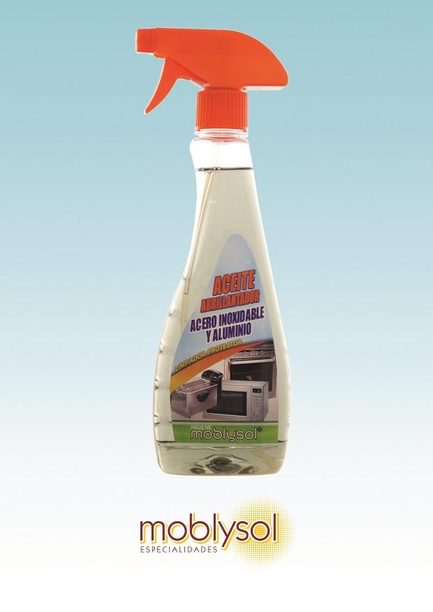 Limpiador Acero, Hierro y Metal Moblysol Pistola