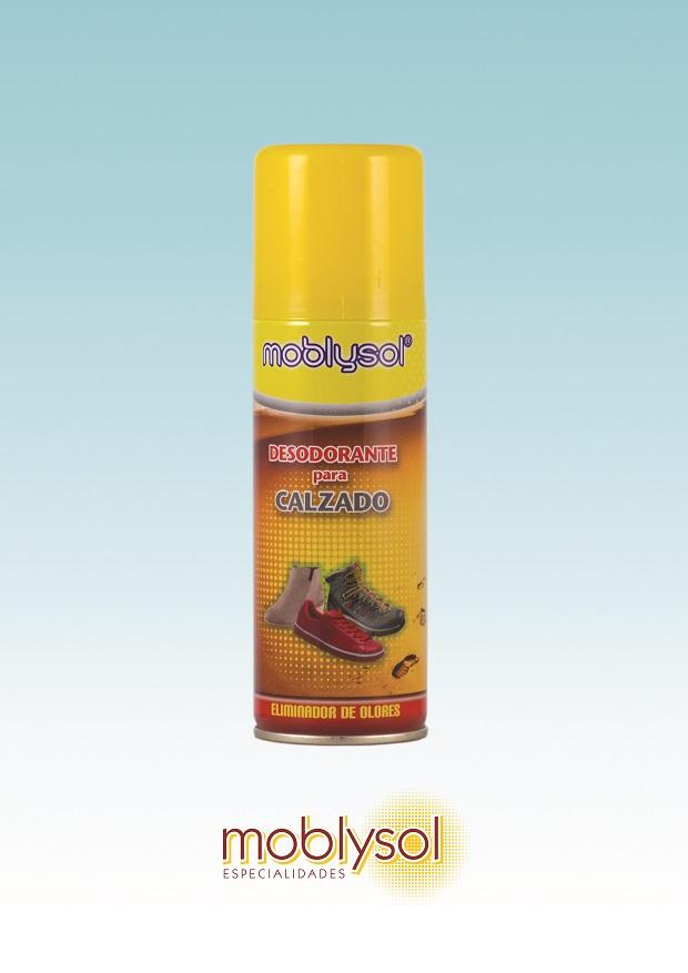 Spray Desodorante de calzados Moblysol