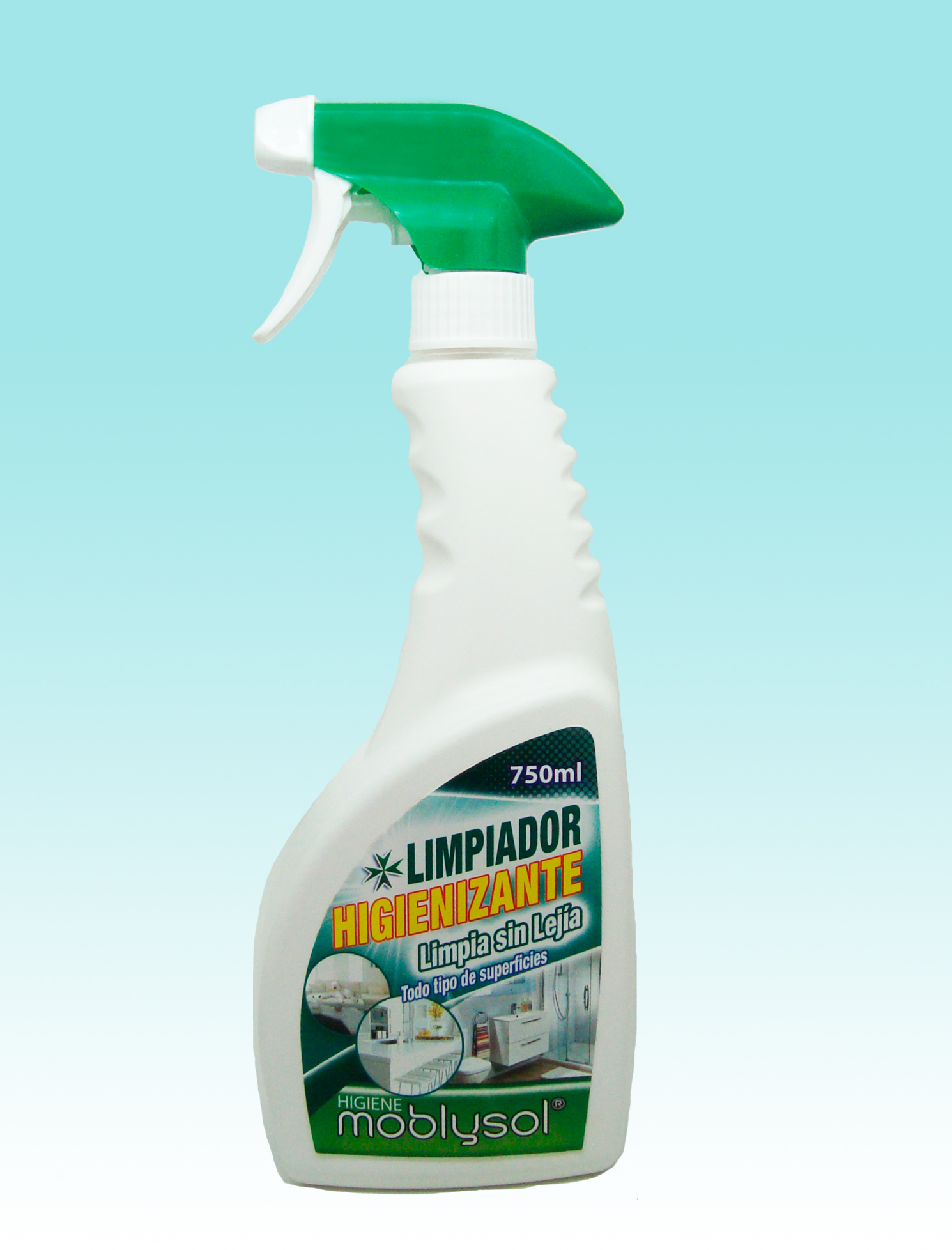 Limpiador Higienizante Moblysol sin Lejía