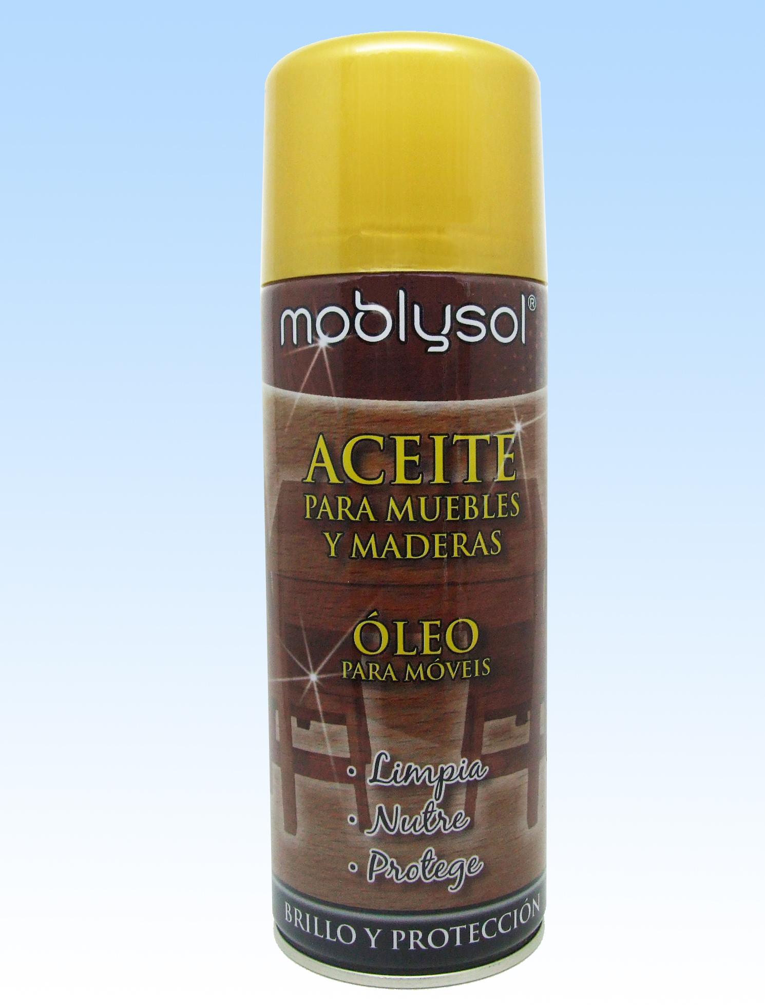 Spray Aceite para Muebles Moblysol Aerosol
